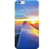 United Airlines 787 sunrise  iPhone Case/Skin