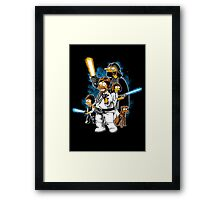 Yellow Wars Framed Print