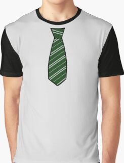 Slytherin Tie  Graphic T-Shirt