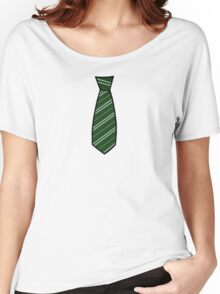 Slytherin Tie  Women's Relaxed Fit T-Shirt