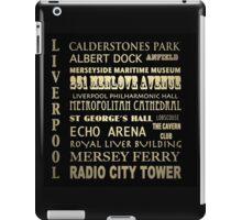 Liverpool Famous Landmarks iPad Case/Skin