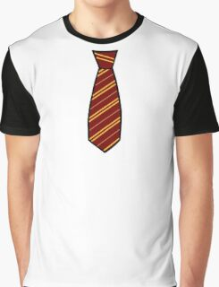 Gryffindor-Tie Graphic T-Shirt