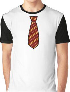 Gryffindor-Tie Graphic T-Shirt