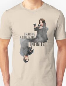 Tracing A Line In The Infinite (Person of Interest) T-Shirt