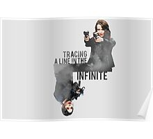 Tracing A Line In The Infinite (Person of Interest) Poster