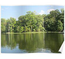 Lake Ridge Reflection by Respite Artwork Poster