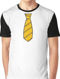 Badger House Tie  Graphic T-Shirt