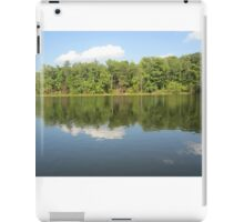 Lake Ridge Reflection 2 by Respite Artwork iPad Case/Skin