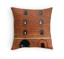 House of Statues Throw Pillow