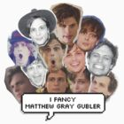 I fancy Matthew Gray Gubler by Qistina Iskandar