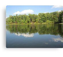 Lake Ridge Reflection 2 by Respite Artwork Canvas Print