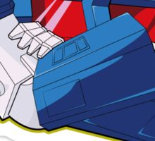 Ultra Magnus - quote (larger text) Sticker