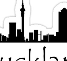 Auckland New Zealand Cityscape Sticker