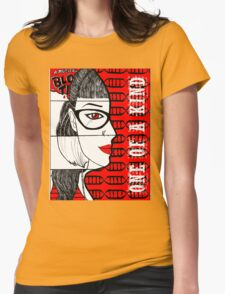 """One of a Kind"" Orphan Black Art Womens Fitted T-Shirt"