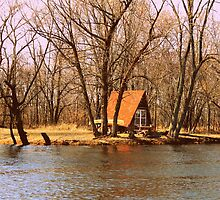 Cottage On The Fox River by VJSheldon