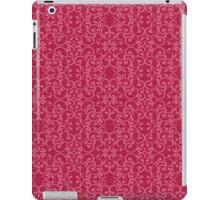 Posh Pink Pattern iPad Case/Skin