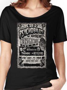 Psychobilly Mayhem Women's Relaxed Fit T-Shirt