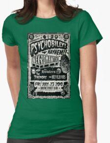 Psychobilly Mayhem Womens Fitted T-Shirt
