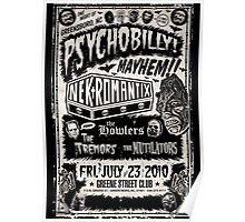 Psychobilly Mayhem Poster