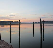 Sunset Pylons by Respite Artwork by Respite-Artwork