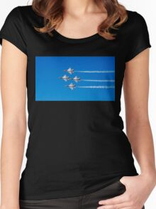 U.S. Air Force Thunderbirds Women's Fitted Scoop T-Shirt