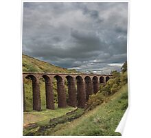 Smardale Gill Approaching Storm Poster