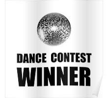 Dance Contest Winner Poster