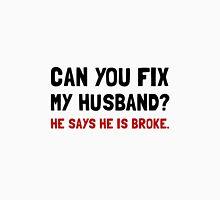 Fix Husband Broke Women's Fitted Scoop T-Shirt