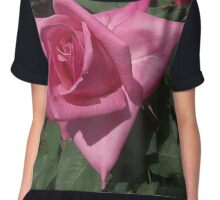Rosy Rose Chiffon Top