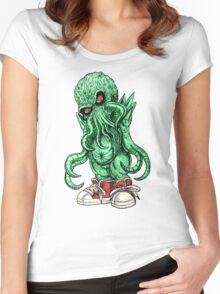 LIL CTHULU 2015 Women's Fitted Scoop T-Shirt