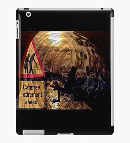 election ahead iPad Case/Skin