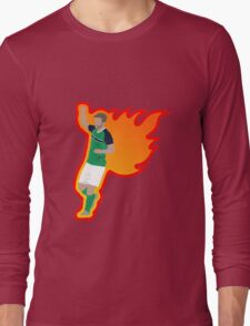Will Grigg's on Fire Long Sleeve T-Shirt