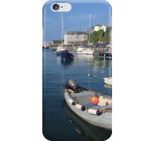 Brixham harbour iPhone Case/Skin