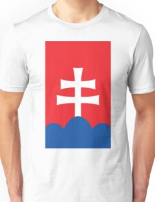 Slovakia Coat of Arms Unisex T-Shirt