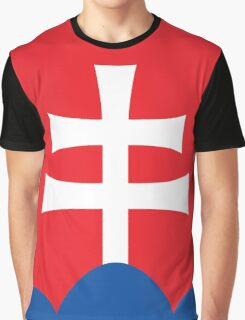 Slovakia Coat of Arms Graphic T-Shirt