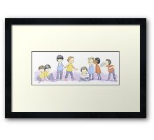 Star Trek Kids Framed Print