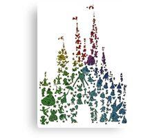 Happiest Rainbow Castle on Earth Canvas Print
