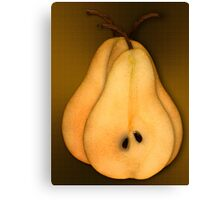 The Fruits. Pears Canvas Print