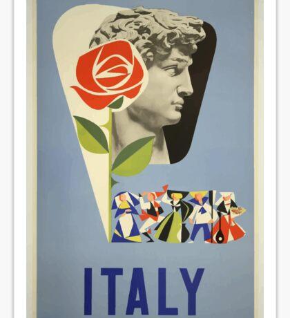 Italy Vintage Travel Poster Sticker