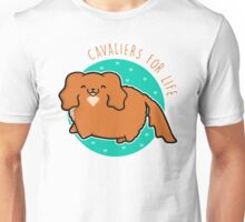 Cavaliers for life - Ruby Unisex T-Shirt