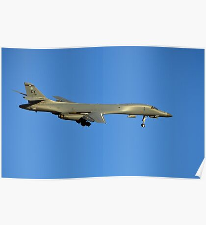 U.S. Air Force B-1B Lancer Bomber Poster