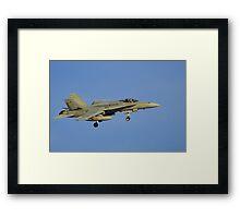 Royal Australian Air Force F/A-18 Hornet Framed Print