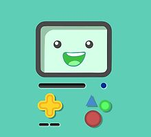 Happy BMO Face - Adventure Time by aurielaki