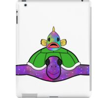 Psychedelic Turtle and Fish iPad Case/Skin