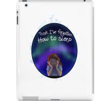 Insomnia iPad Case/Skin