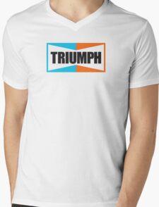 TRIUMPH (black) Mens V-Neck T-Shirt