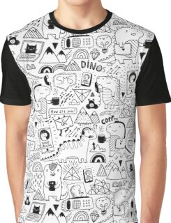 Communication Dinosaurs.  Graphic T-Shirt