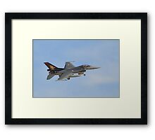 Turkish Air Force F-16 Fighting Falcon Framed Print