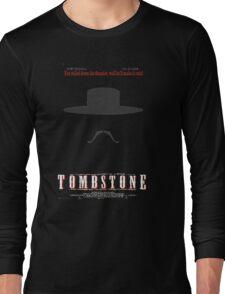 You Called Down the Thunder Tombstone Wyatt Earp Long Sleeve T-Shirt