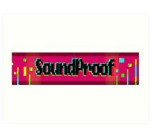 Soundproof Gaming Logo 2 Art Print